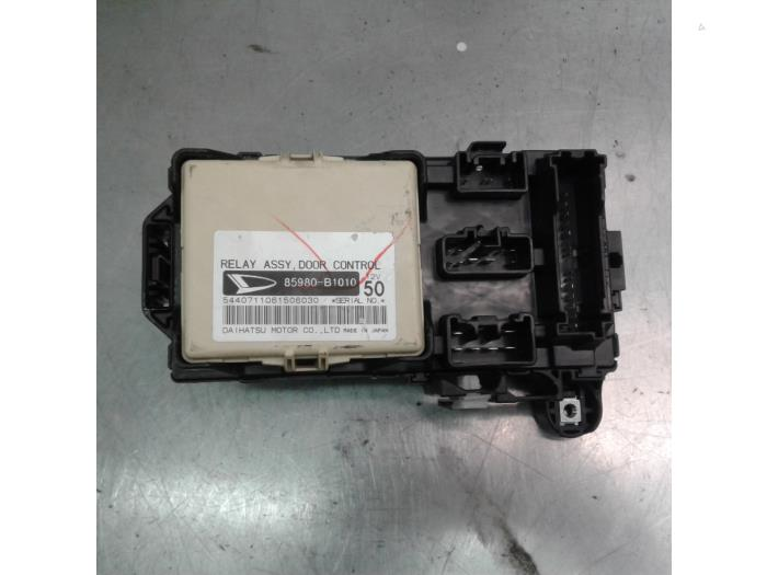 Daihatsu Sirion 2006 Fuse Box Electrical Circuit Electrical Wiring
