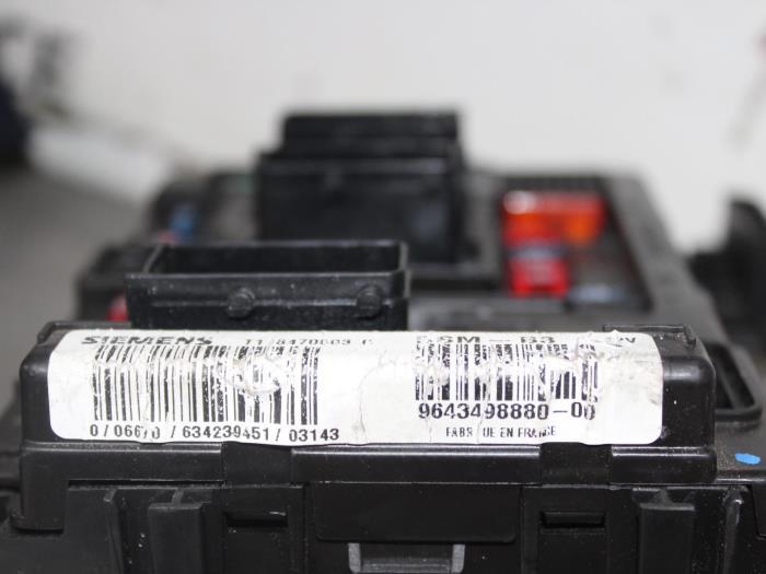 Used Citroen C3 Fuse box - T118470003J - Autocommerce ProxyParts