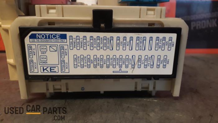 Used Toyota Yaris Fuse box - 827300D290 - MPronk BV ProxyParts