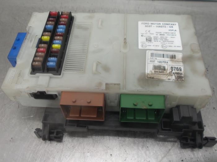 Used Ford S-Max Fuse box - 6G9T14A073DK - BONGERS AUTO-ONDERDELEN
