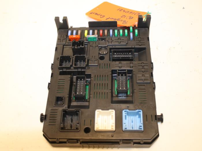 Fuse Box On A Peugeot Expert Wiring Schematic Diagram