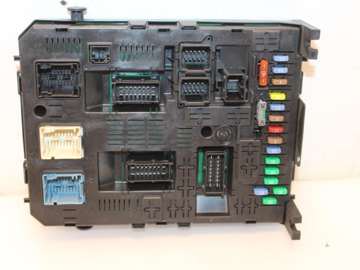 Used Citroen Berlingo 16 Hdi 16V 90 Fuse box - 9664058780 - van