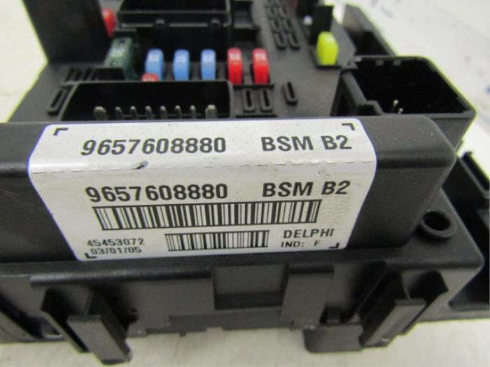 Peugeot 206 Fuse Box Wiring Diagram