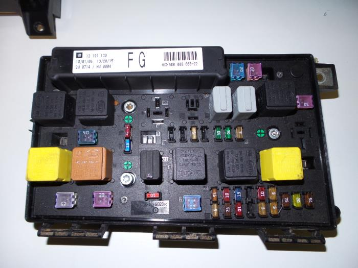 Astra H Fuse Box Wiring Diagrams
