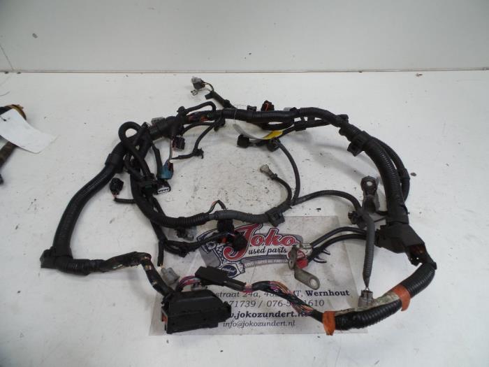 Used Toyota Yaris II (P9) 10 12V VVT-i Wiring harness - 821210D140
