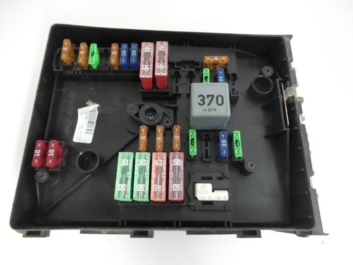 Skoda Fabia 05 Fuse Box Wiring Diagram