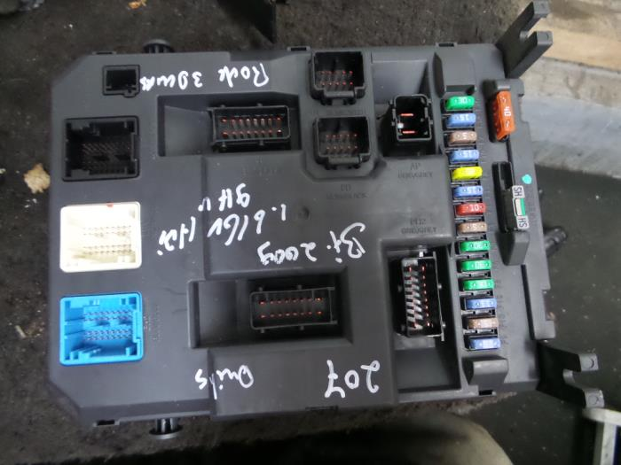 Fuse Box On A Peugeot 207 Wiring Diagram 2019