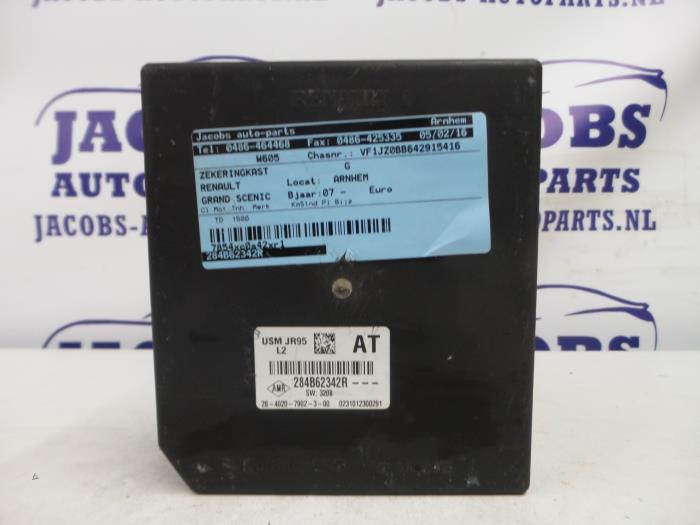 Used Renault Grand Scenic Fuse box - 284B62342R - Jacobs auto-parts
