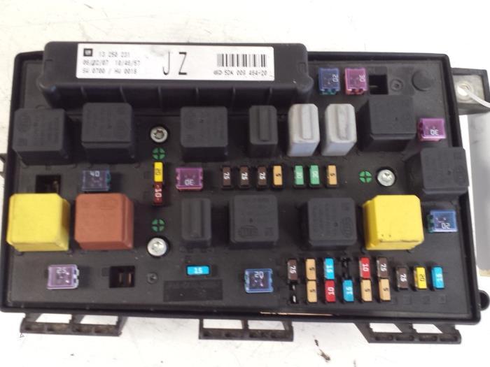Astra Sri Fuse Box Wiring Diagram