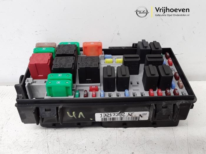Vauxhall Corsa D Engine Fuse Box Wiring Diagram