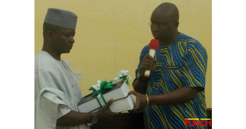Fayose presents handover note to Head of Service \u2013 Punch Newspapers