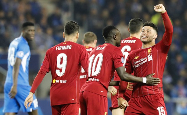 Oxlade Chamberlain On Target Twice As Liverpool Ease Past Genk Punch Newspapers