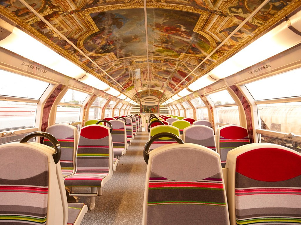 Palace of versailles inspired trains revealed