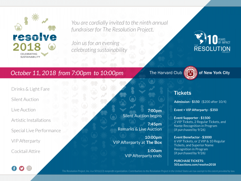 Charity Spotlight The 9th Annual Resolve Gala Is