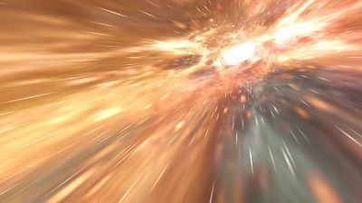 Hyperspace 3D Screensaver and Live Wallpaper for Windows