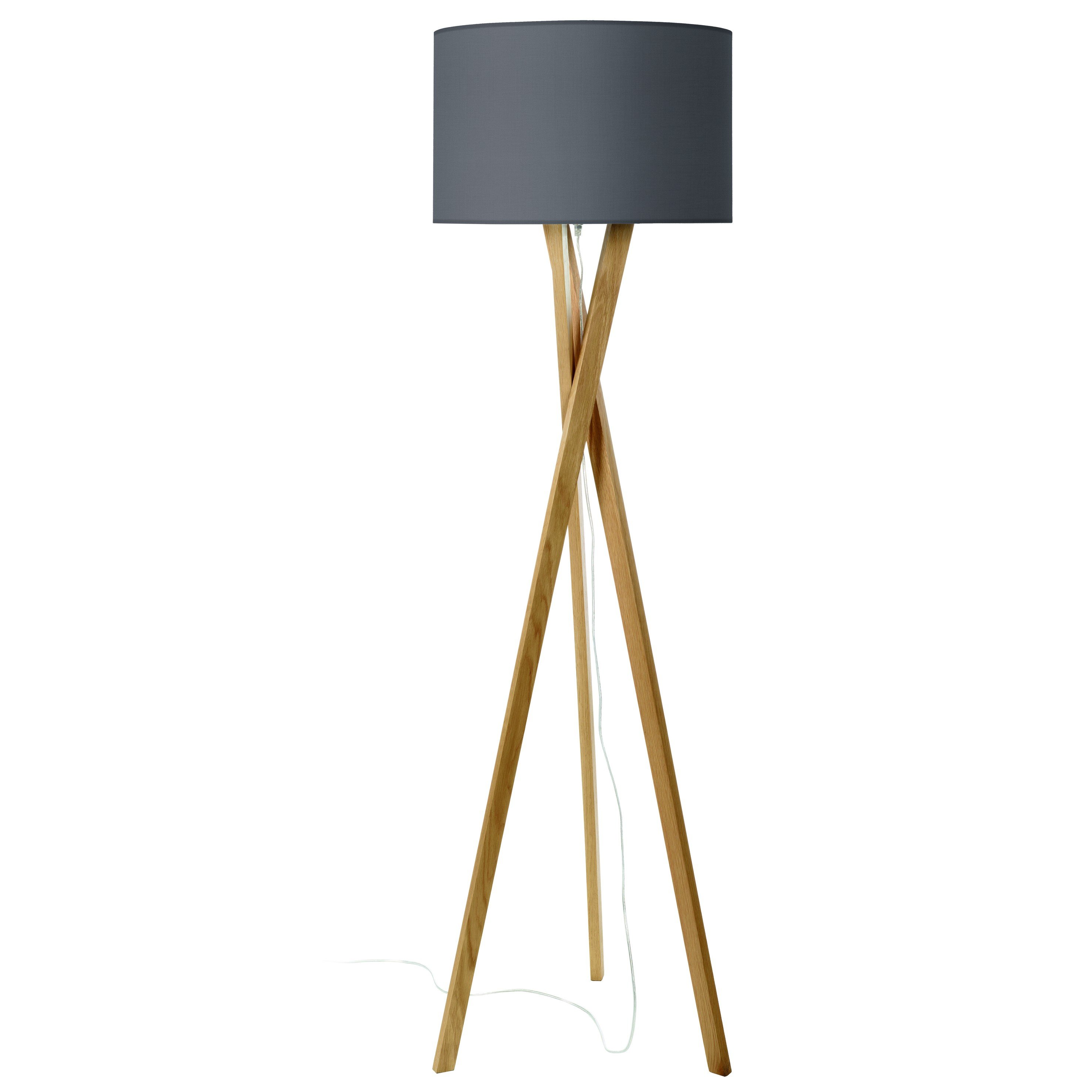 Lampara De Pie Salon Exo Lighting Wood Lámpara De Pie Madera Haya LÁmparas