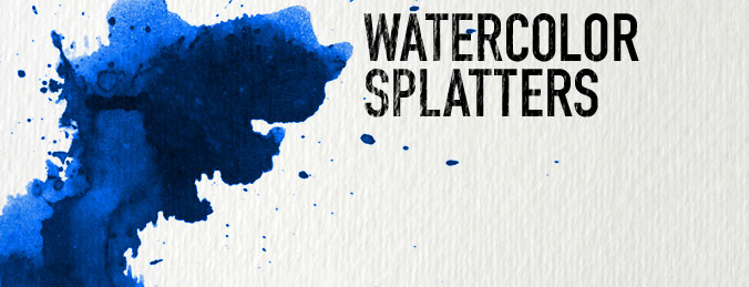 Free Watercolor Photoshop Brushes - Download Qbrushesnet