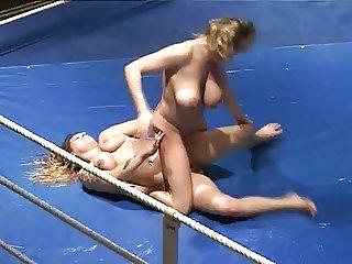 tit pulling catfights