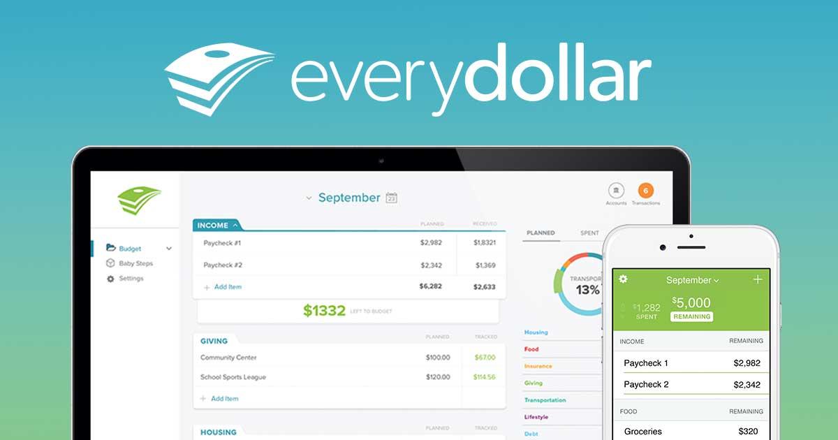 EveryDollar - Dave Ramsey Budget Tool DaveRamsey