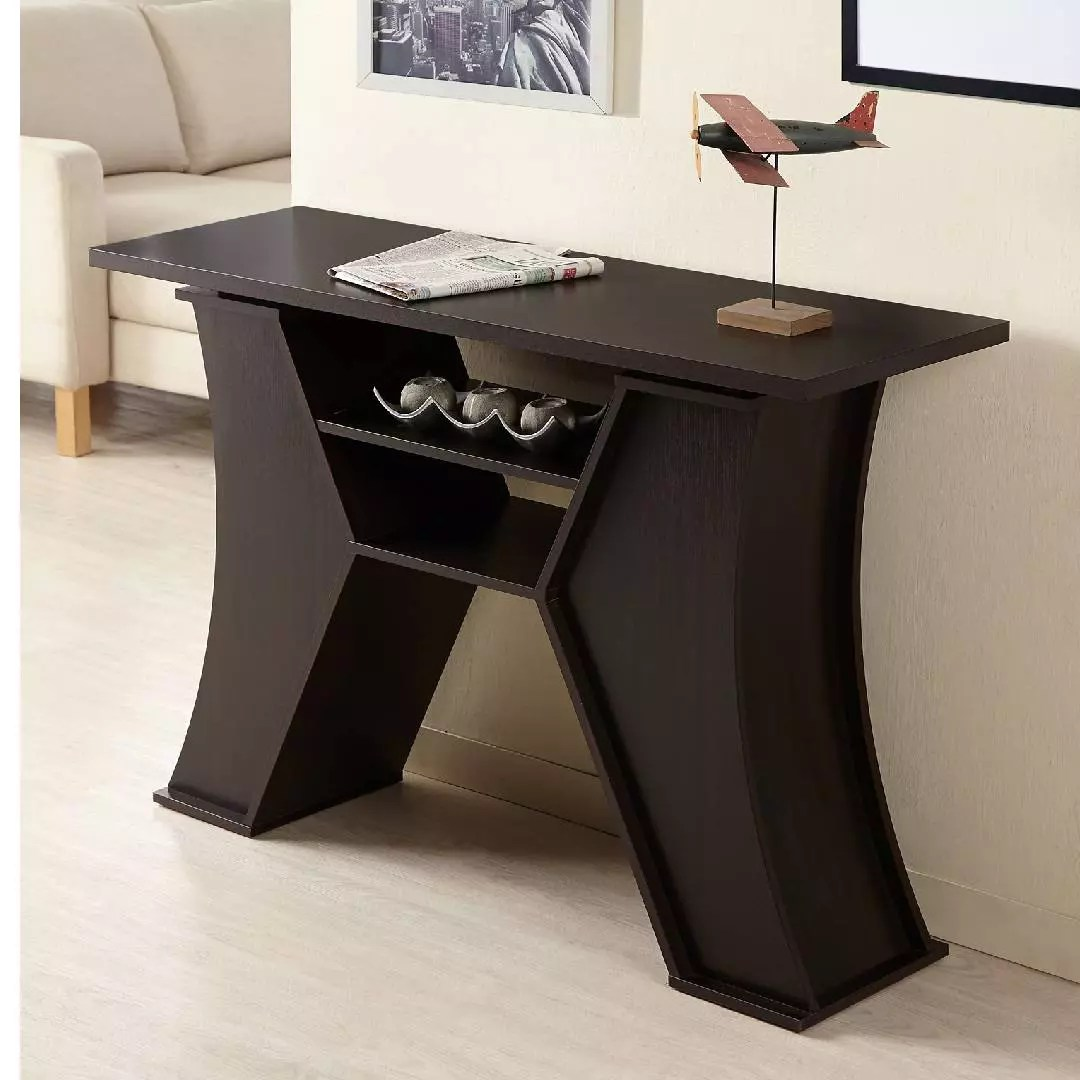 Classic Table Office Modern Classic H Shaped Console Table Office And Home Living