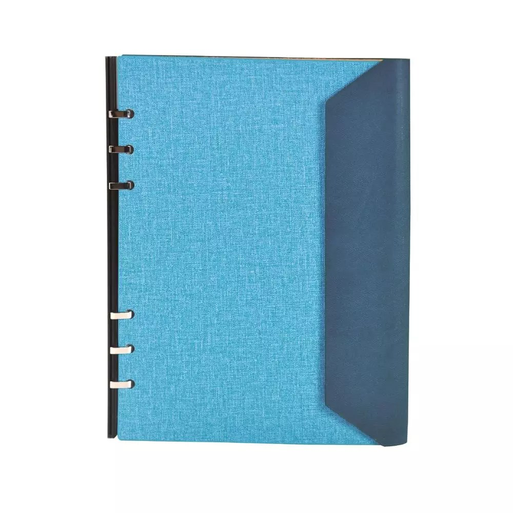Tri Fold Diy Binder Notebook Office Stationery Supplies