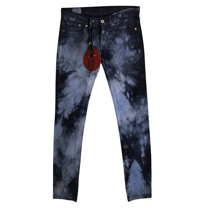 Batik Look Dondup Jeans In Batik Look - Buy Second Hand Dondup Jeans