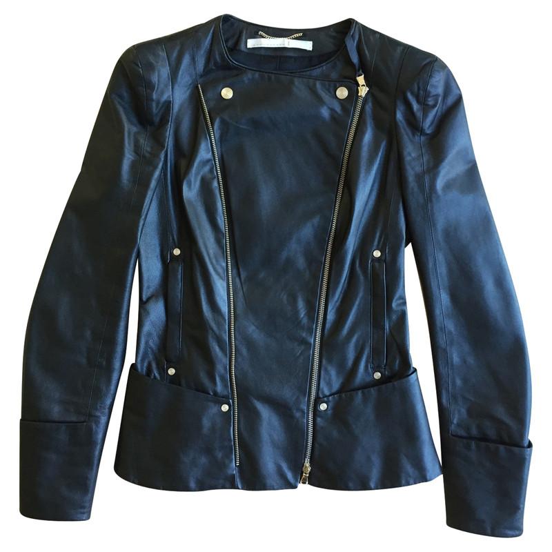 Dorothee schumacher leather jacket in biker style second