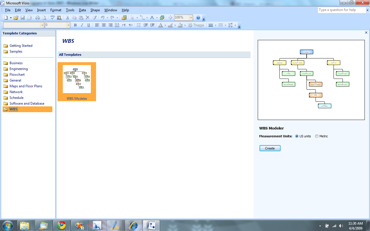 Visio Office Creating Wbs Diagrams In Office Visio 2007 Redmond Pie