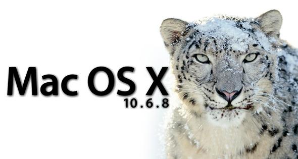 Mac Os X Leopard Wallpaper Hd Mac Os X Snow Leopard Gets A Supplemental Update Of 10 6 8