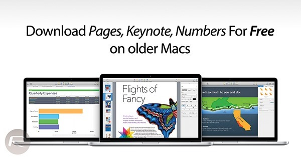 How To Get iWork Apps On OS X Yosemite For Free On Older Macs - how to get pages for free