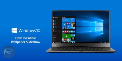 Enable Windows 10 Desktop Wallpaper Slideshow, Here's How   Redmond Pie