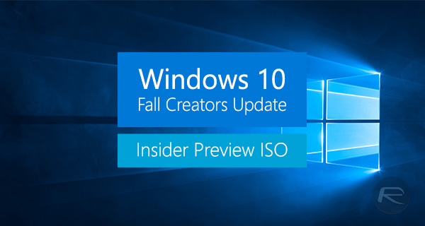 Download iso windows 10 fall creators update preview