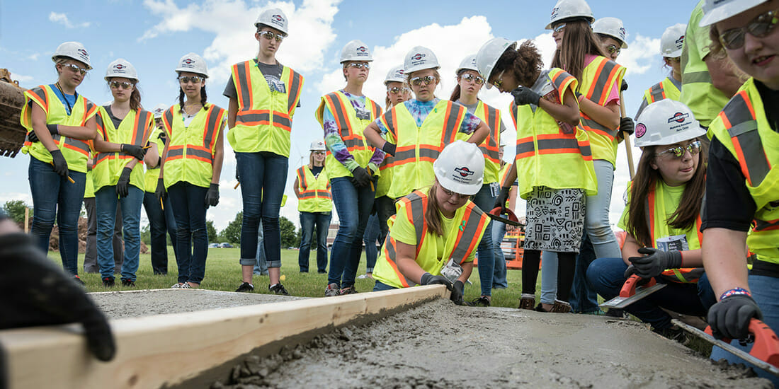 Women in Construction Time to Inspire a New Generation of Girls