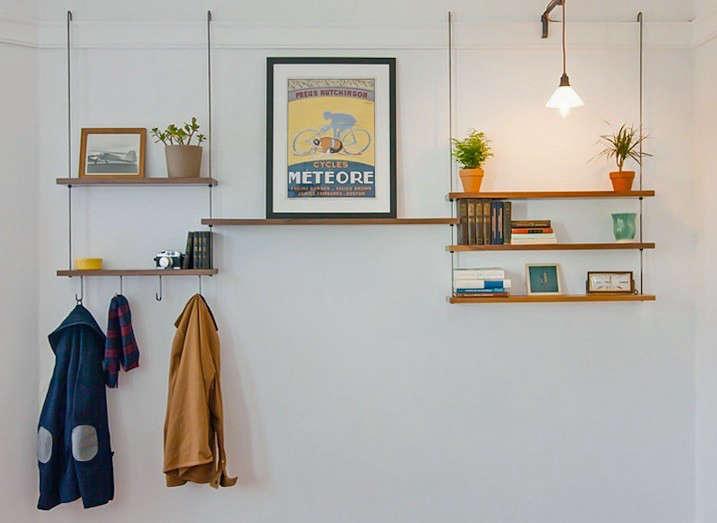 Instant Storage Hanging Shelves Made In San Francisco