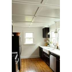 Small Crop Of Beadboard Ceiling Panels