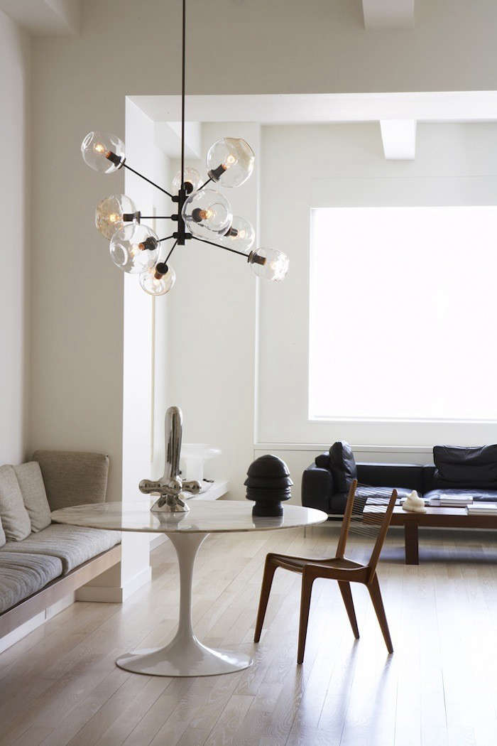 Satin Nickel Vs Brushed Nickel High/low: Globe Light Fixtures - Remodelista