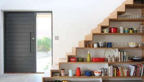 Storage Kitchens Under the Stairs - Remodelista - under stairs kitchen storage