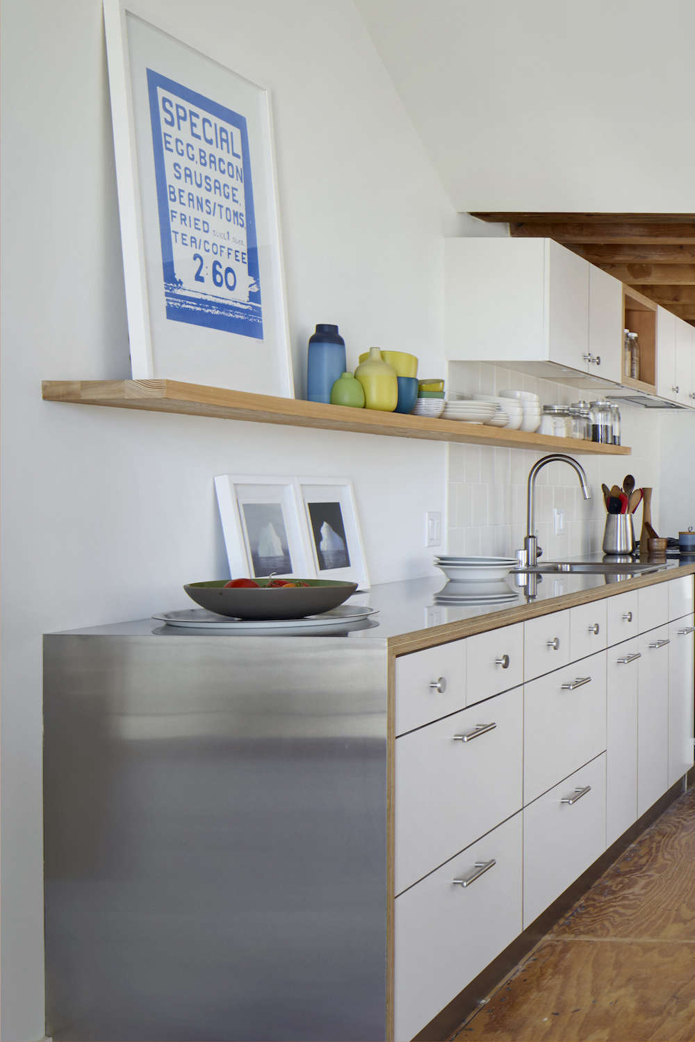 Kitchen Countertop Edges Remodeling 101 Stainless Steel Countertops Remodelista