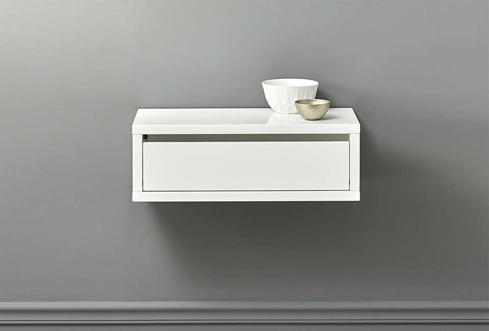 10 Easy Pieces Wall Mounted Bedside Shelves With Drawers