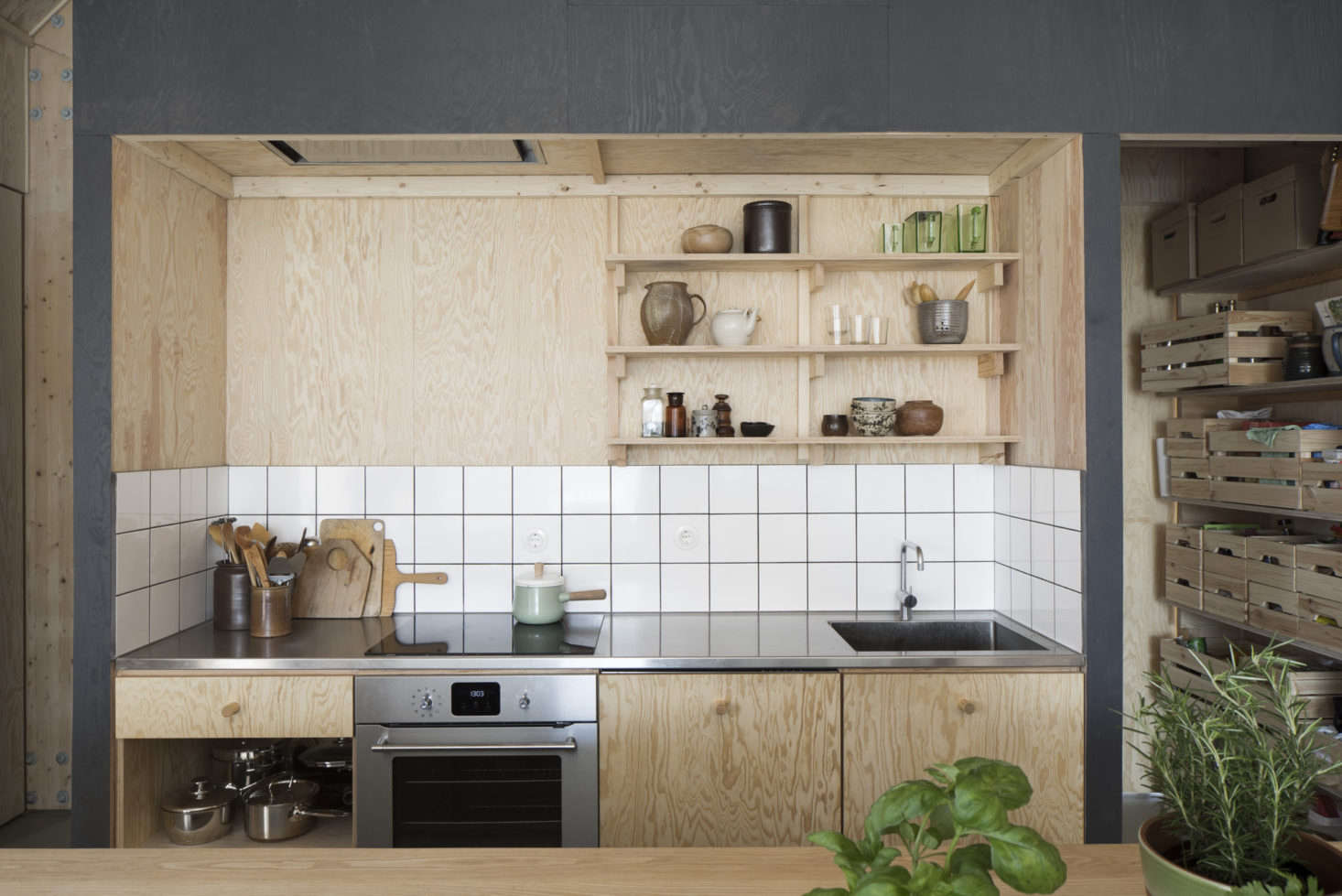 Small Enclosed Kitchen Design 14 Tricks For Maximizing Space In A Tiny Kitchen Urban Edition
