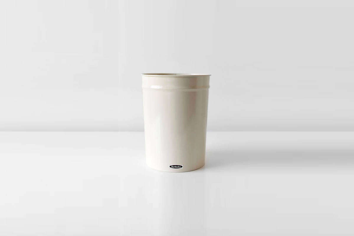 Small White Trash Can With Lid Object Of Desire An Award Winning Trash Can From Japan Remodelista