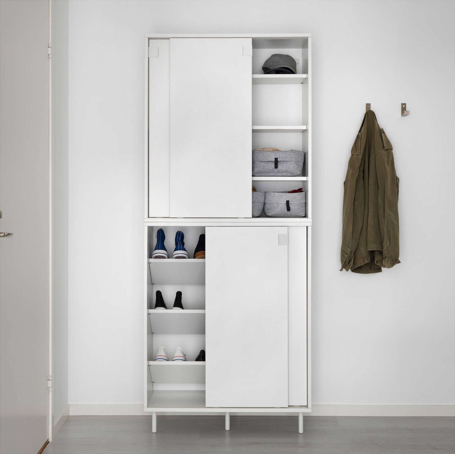Ikea Storage Cabinets Ikea Storage Solutions For Minimalists On A Budget Remodelista