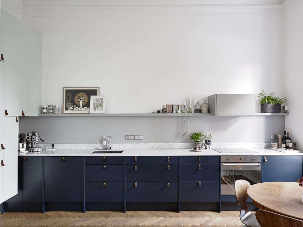 Fullsize Of Blue Kitchen Cabinets