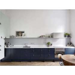 Small Crop Of Blue Kitchen Cabinets