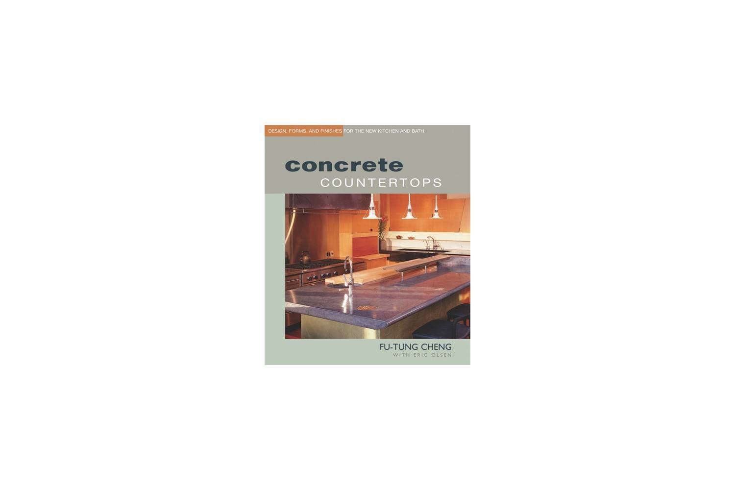 Concrete Countertops Book Concrete Countertops Design Forms And Finishes For The New