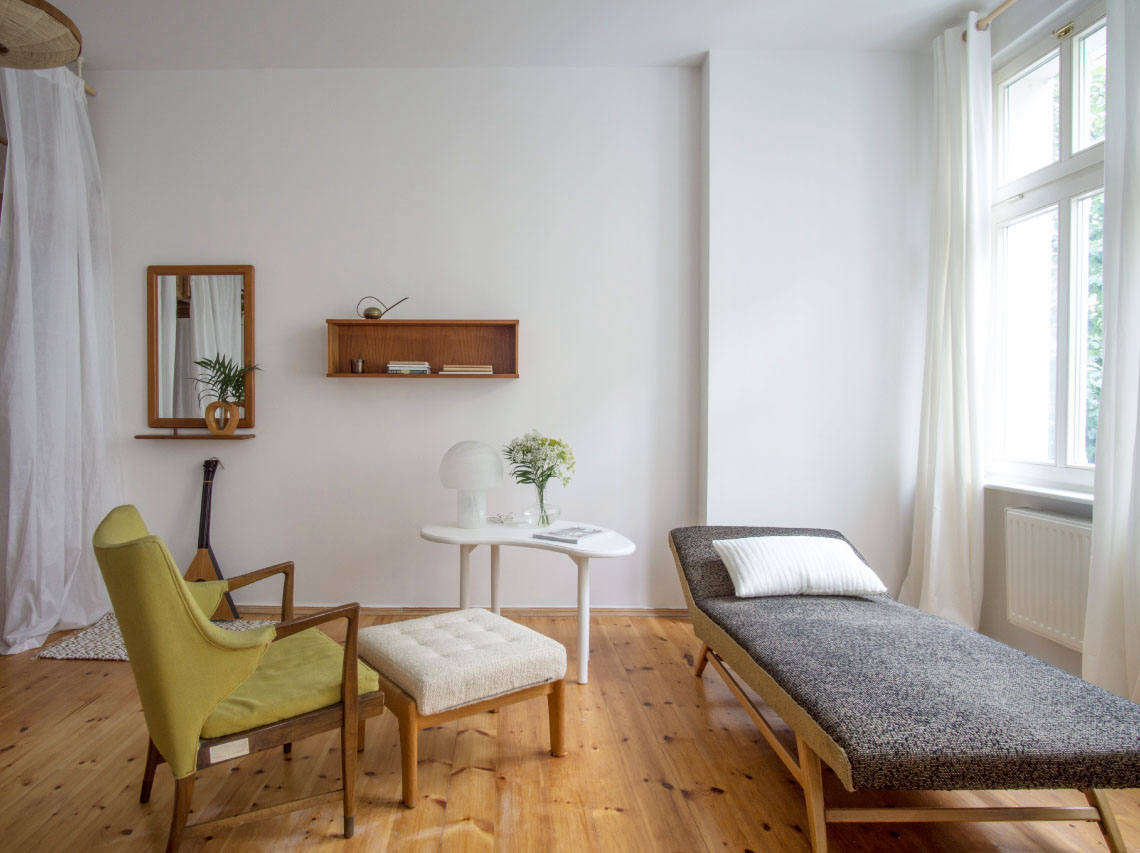 Berlin Interior Design A Modest Mostly Vintage Rental In Berlin By Quiet Studios
