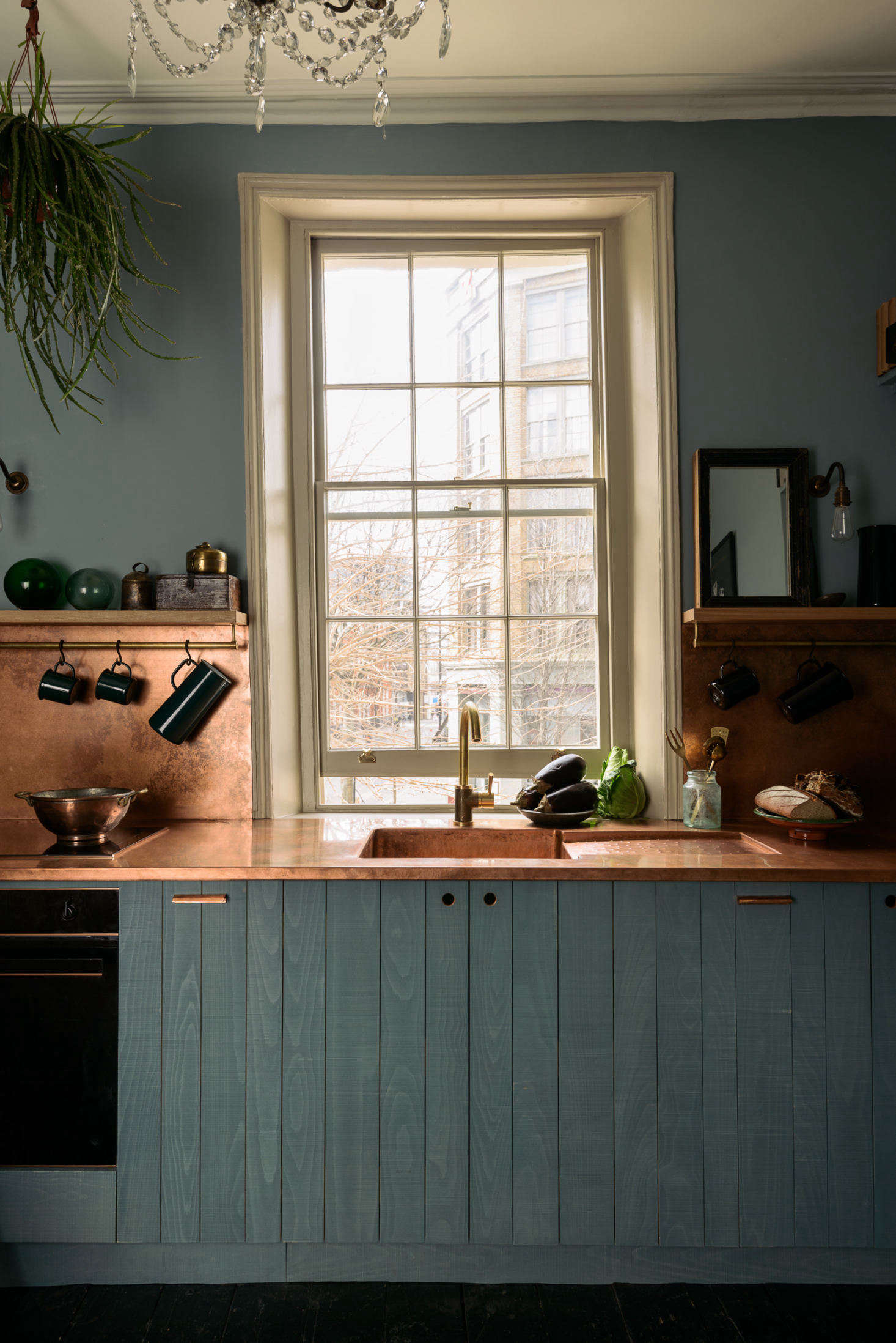 Kitchen Cupboard Painters Leicestershire Kitchen Of The Week Devol S Urban Rustic Kitchen Gets A Glamorous