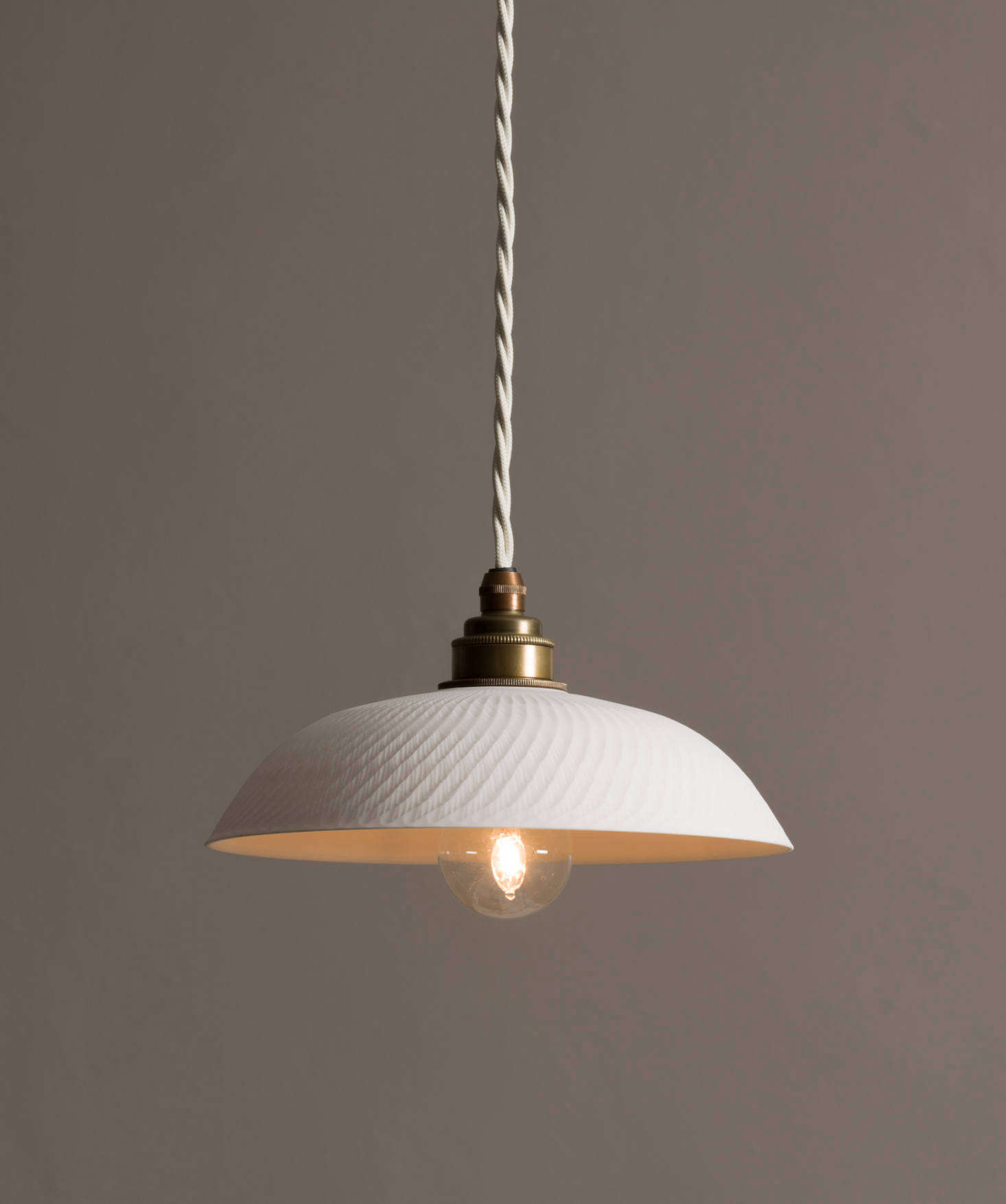 Pendant Lighting New From Devol Porcelain Pendant Lights Handmade In England