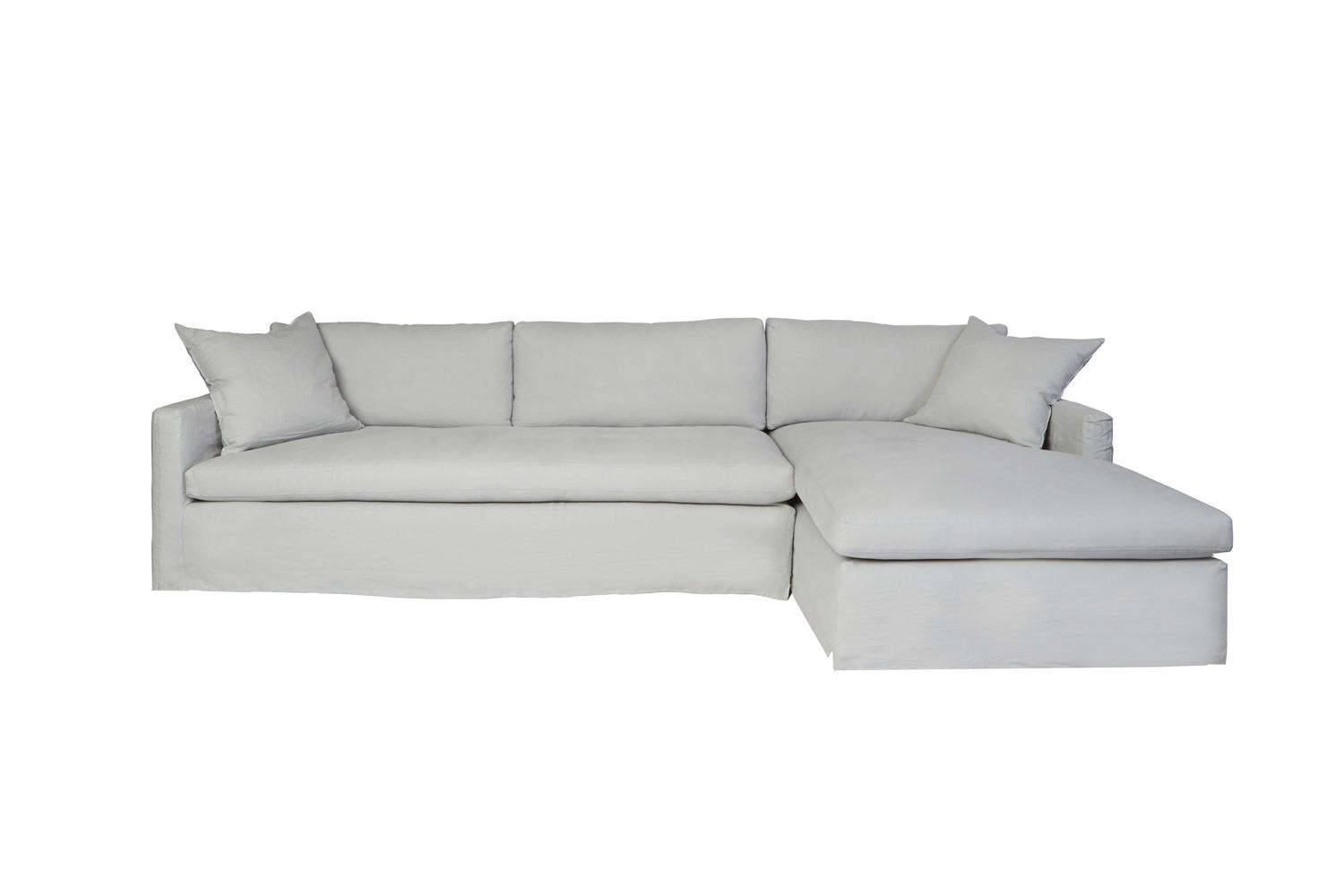 Chaise Spoon 10 Easy Pieces Sectional Chaise Sofas Remodelista Sourcebook