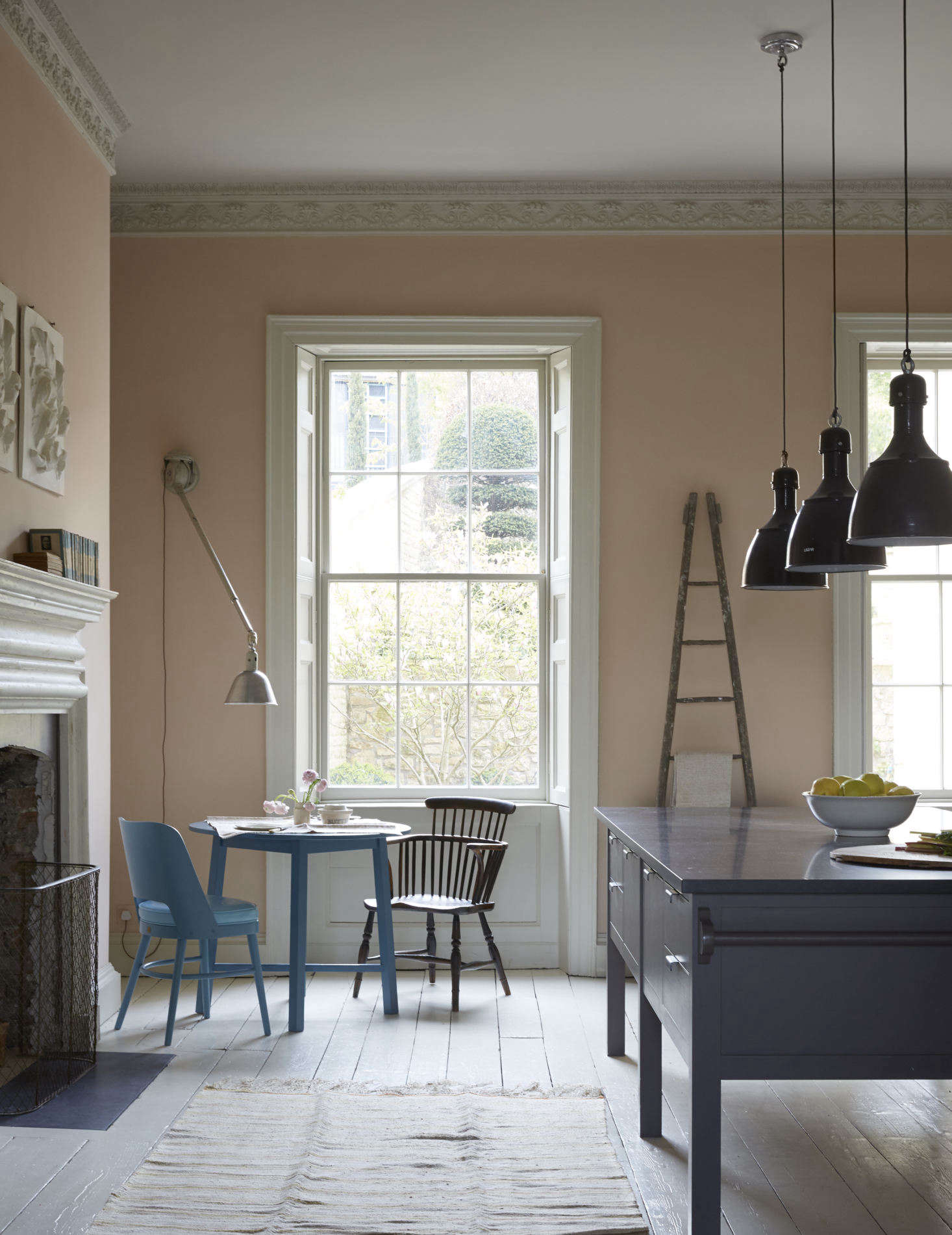 Pink Kitchen Paint Steal This Look A Plaster Pink Kitchen In Bath England Remodelista
